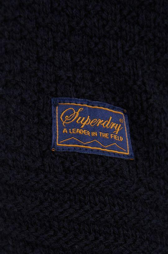 Superdry - Sweter z domieszką wełny Męski