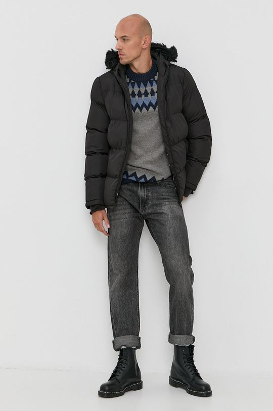 Solid - Sweter szary