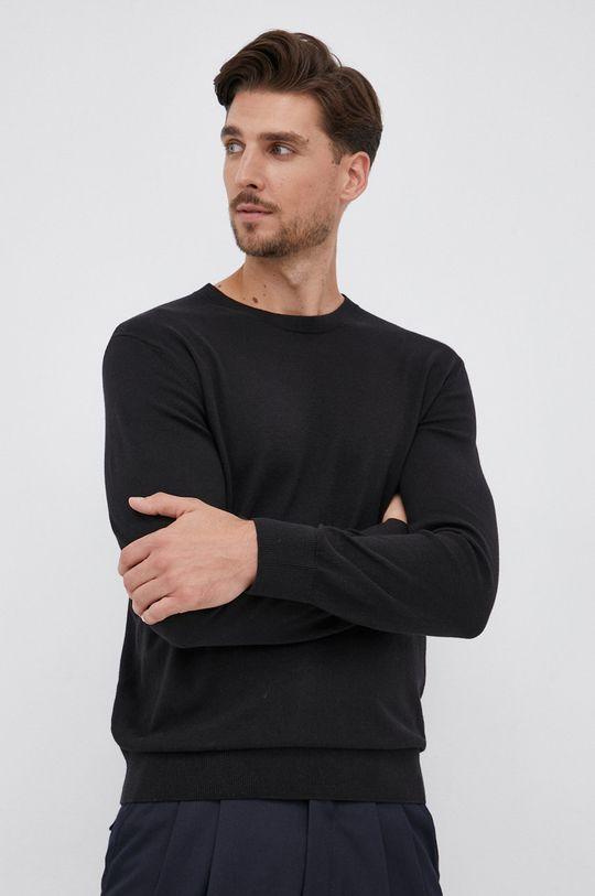 czarny GAP - Sweter Męski
