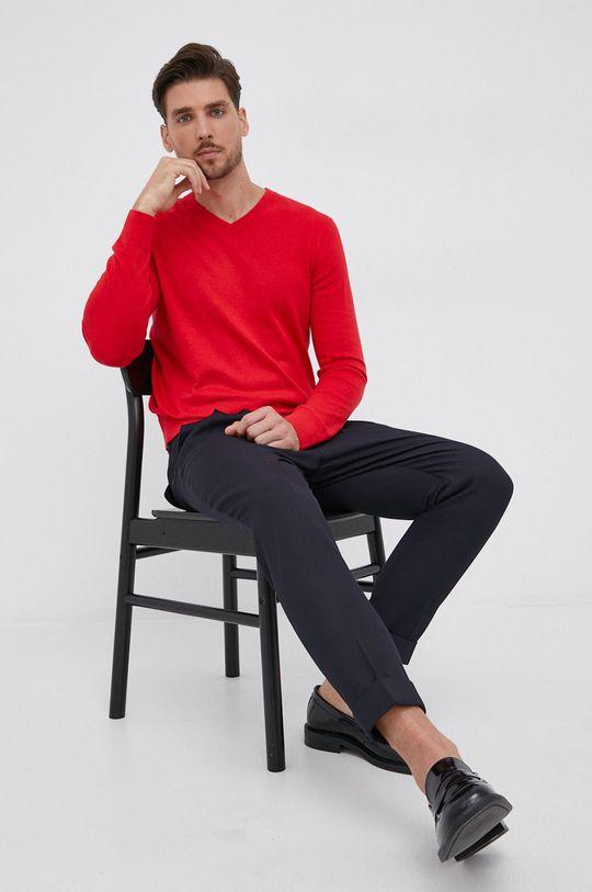 czerwony GAP - Sweter Męski