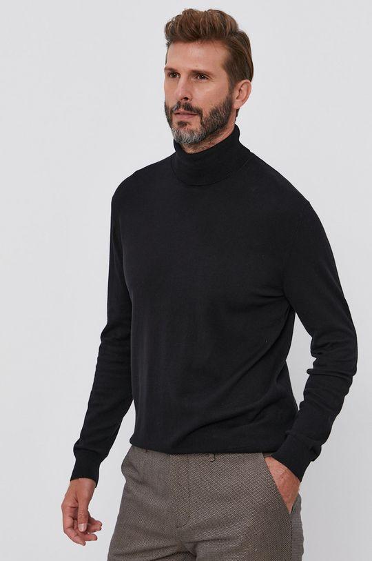 United Colors of Benetton - Sweter czarny