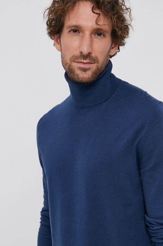 granatowy Sisley - Sweter