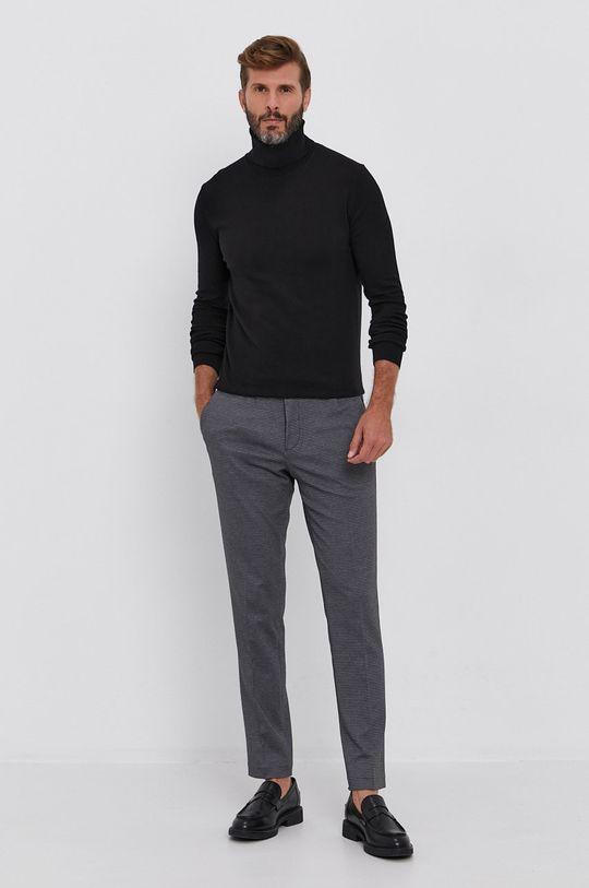 Sisley - Sweter czarny
