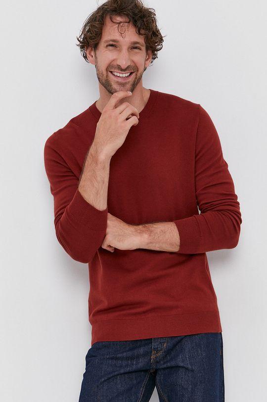 Sisley - Sweter czerwony