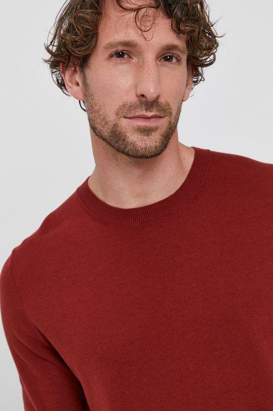 czerwony Sisley - Sweter