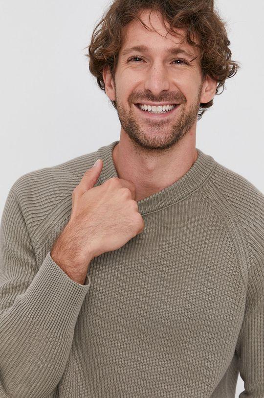 szary Drykorn - Sweter Aaron