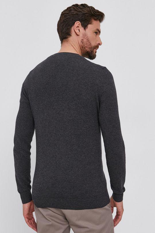 Lyle & Scott - Sweter z domieszką wełny 85 % Bawełna, 15 % Wełna