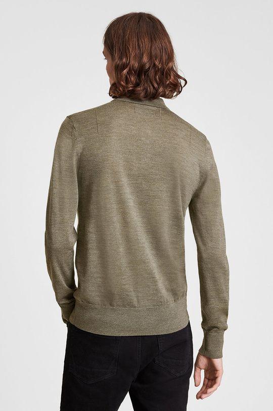 jasny oliwkowy AllSaints - Sweter wełniany