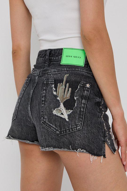 Miss Sixty - Džínové šortky  Hlavní materiál: 100% Bavlna Podšívka kapsy: 100% Bavlna