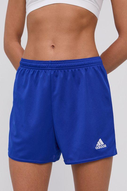 niebieski adidas Performance - Szorty Damski