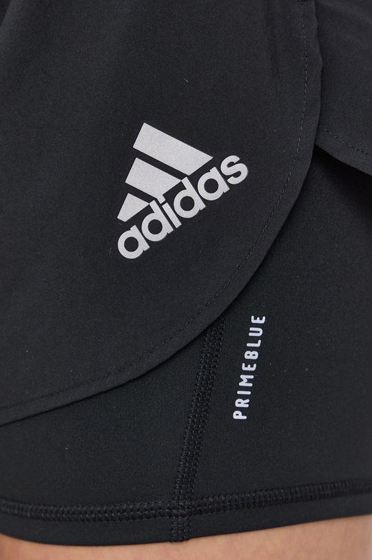 černá adidas Performance - Kraťasy