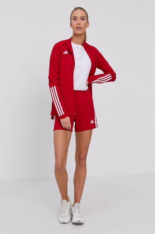adidas Performance - Szorty czerwony