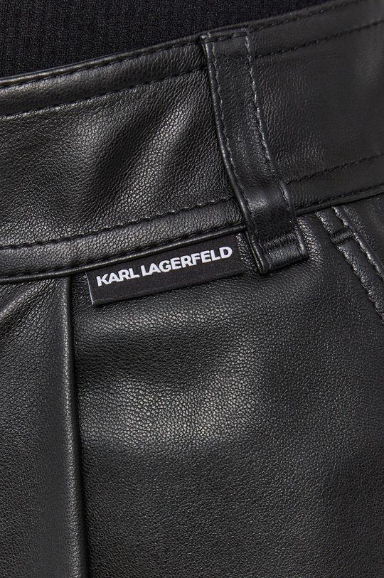 czarny Karl Lagerfeld - Szorty