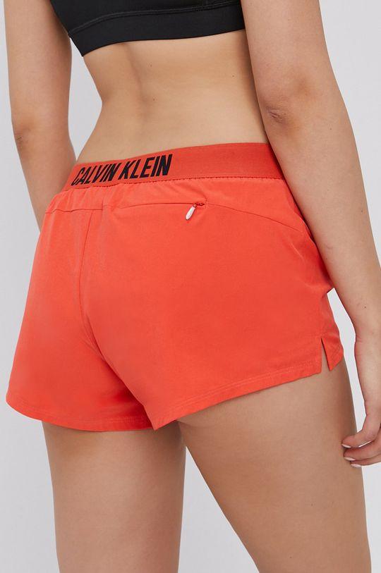 oranžová Calvin Klein Performance - Kraťasy Dámský