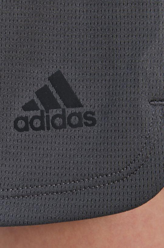 szary adidas Performance - Szorty