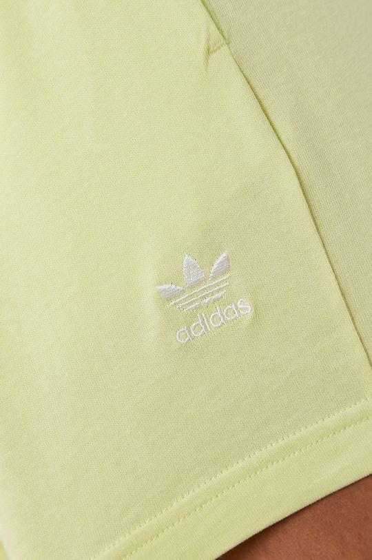 jasny żółty adidas Originals - Szorty