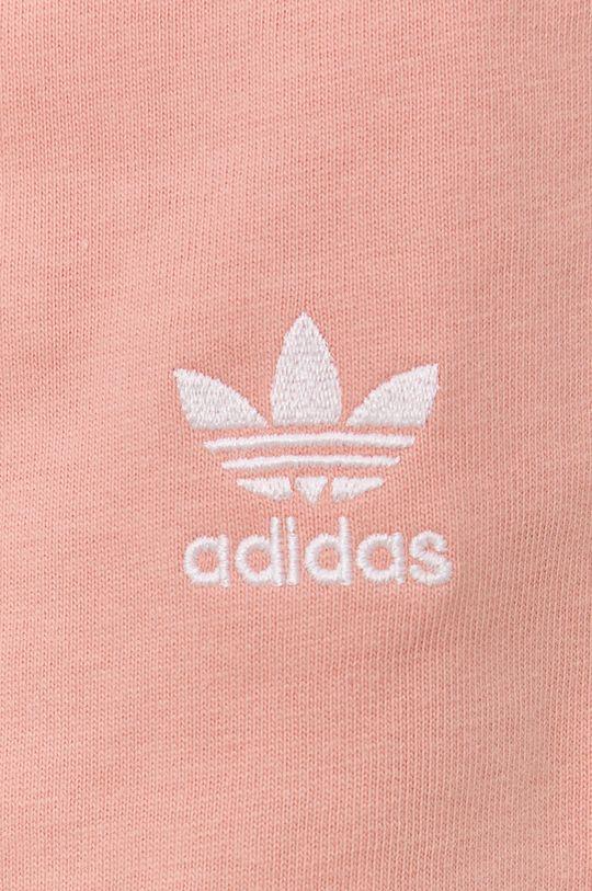 brzoskwiniowy adidas Originals - Szorty