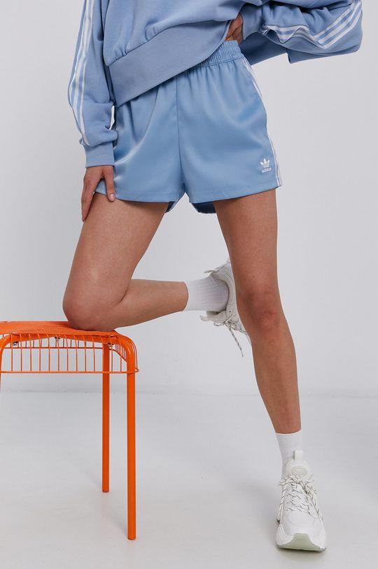 jasny niebieski adidas Originals - Szorty Damski