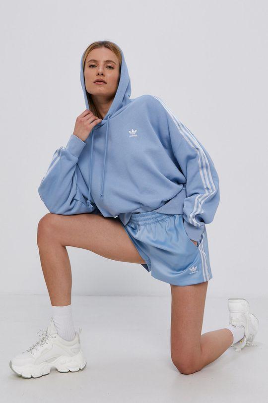 adidas Originals - Szorty jasny niebieski