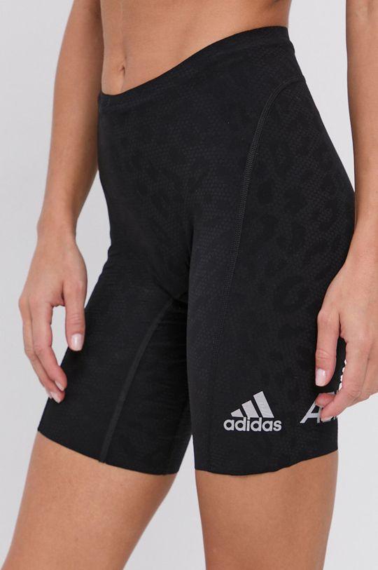 czarny adidas Performance - Szorty Damski