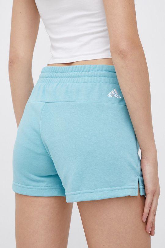 adidas - Szorty stalowy niebieski