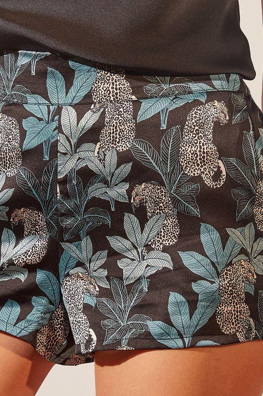 Etam - Szorty piżamowe Leopard Damski