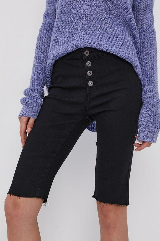 czarny Only - Szorty jeansowe Damski