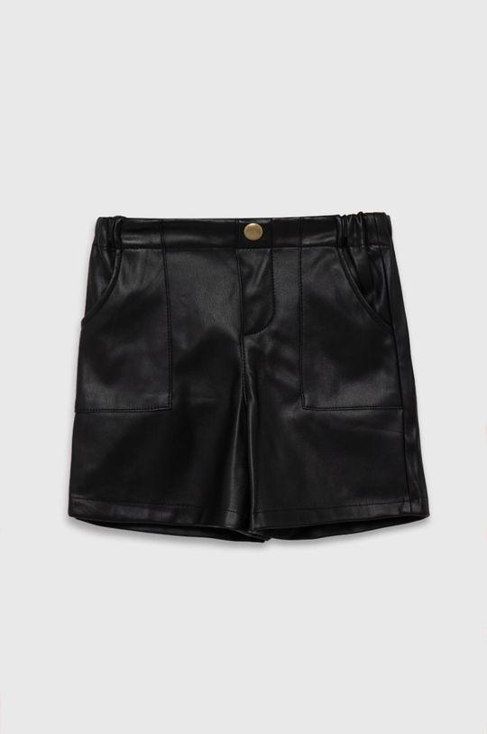 negru United Colors of Benetton - Pantaloni scurti copii De fete