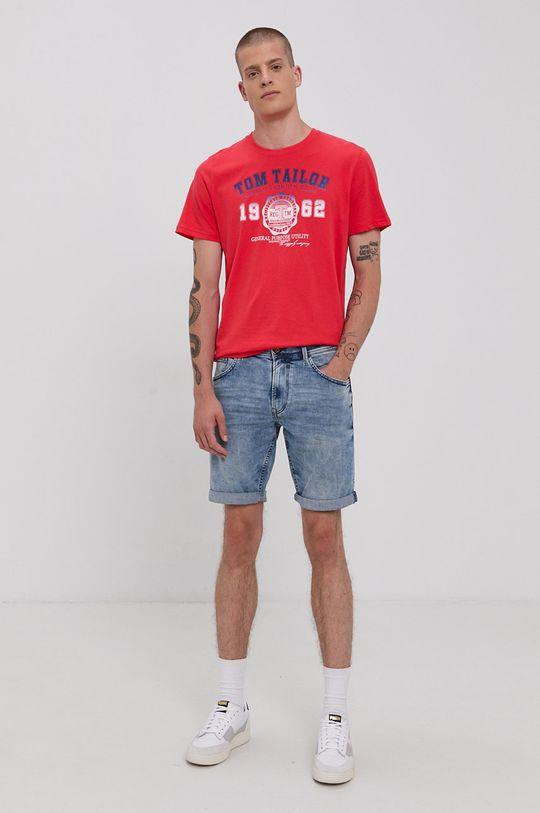 Tom Tailor - Szorty jeansowe jasny niebieski