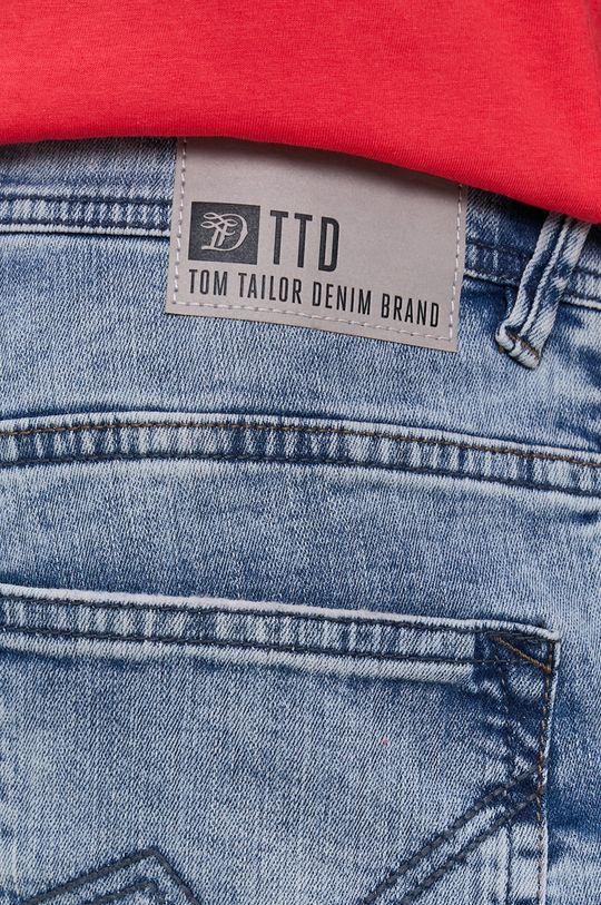 jasny niebieski Tom Tailor - Szorty jeansowe