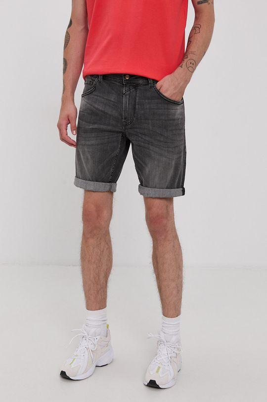szary Tom Tailor - Szorty jeansowe Męski