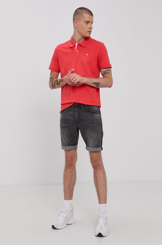 Tom Tailor - Szorty jeansowe szary