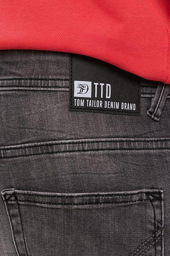 szary Tom Tailor - Szorty jeansowe