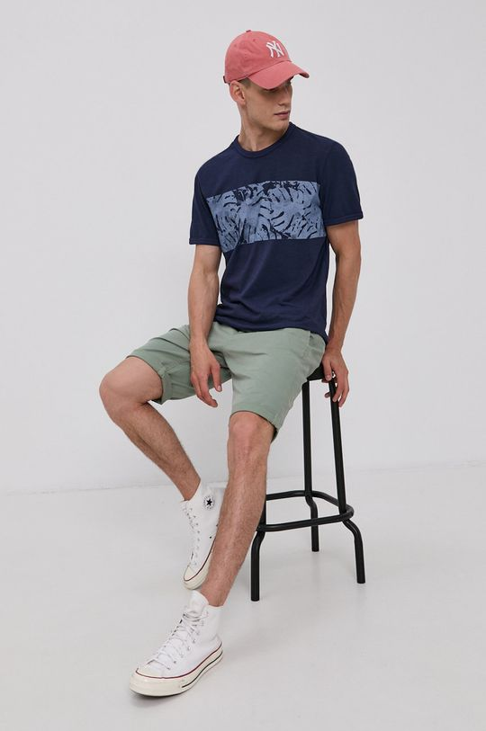 Tom Tailor - Szorty jasny oliwkowy