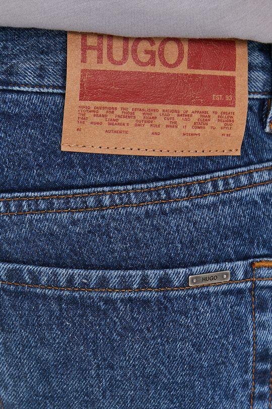 niebieski Hugo - Szorty jeansowe