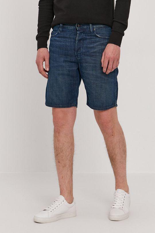 albastru G-Star Raw - Pantaloni scurti jeans De bărbați