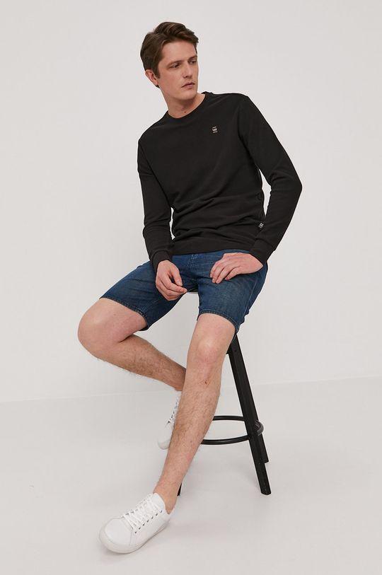 G-Star Raw - Pantaloni scurti jeans albastru