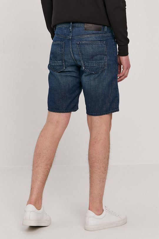 G-Star Raw - Pantaloni scurti jeans  Materialul de baza: 100% Bumbac organic Alte materiale: 100% Piele naturala Captuseala buzunarului: 35% Bumbac organic, 65% Poliester reciclat