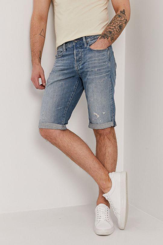 niebieski G-Star Raw - Szorty jeansowe Męski