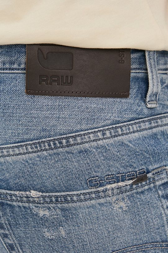 niebieski G-Star Raw - Szorty jeansowe