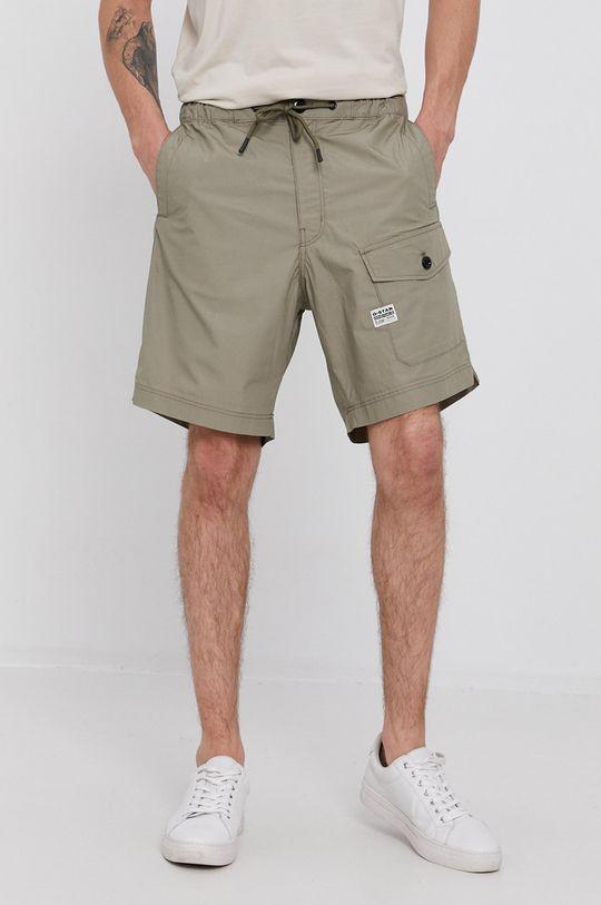 verde murdar G-Star Raw - Pantaloni scurti De bărbați