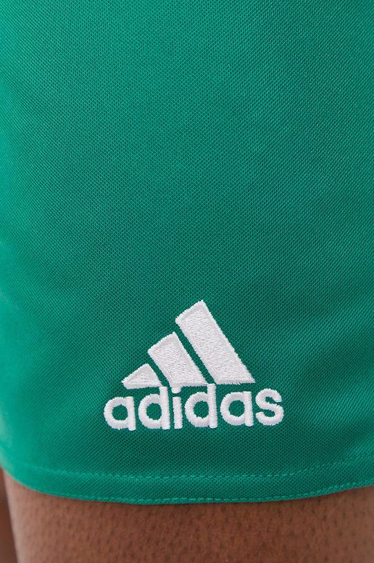 zielony adidas Performance - Szorty