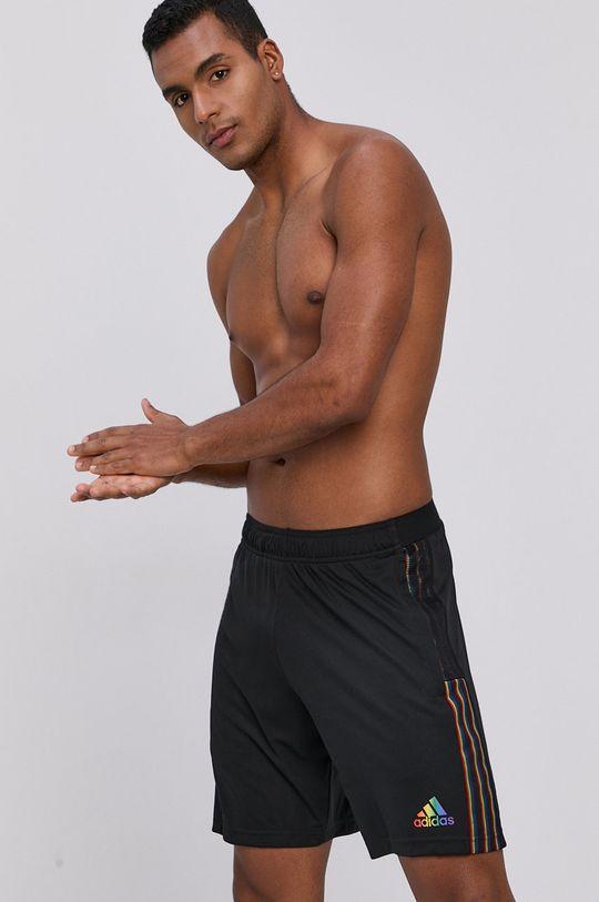 czarny adidas Performance - Szorty Męski