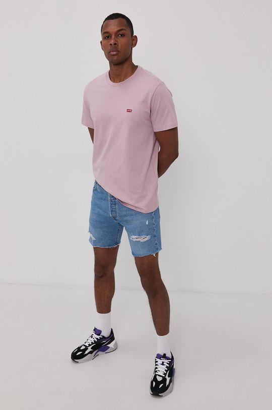 Levi's - Szorty jeansowe niebieski
