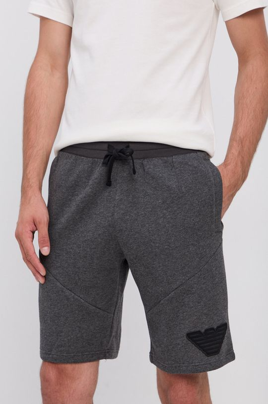 grafitowy Emporio Armani Underwear - Szorty Męski