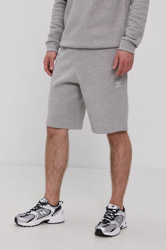 szary adidas Originals - Szorty Męski