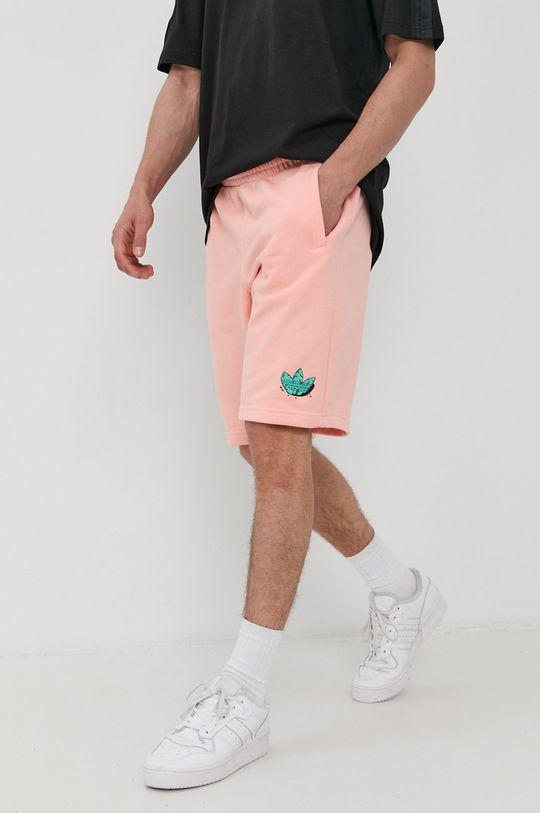 brudny róż adidas Originals - Szorty Męski