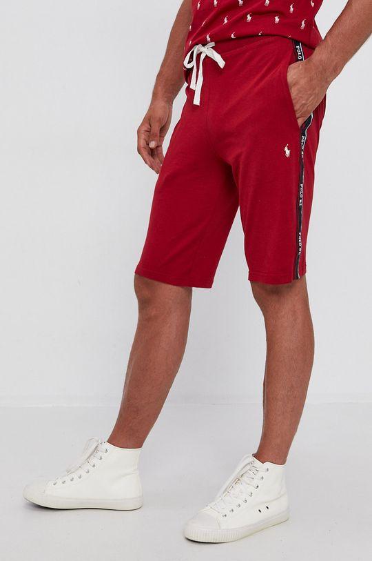 czerwony Polo Ralph Lauren - Szorty Męski