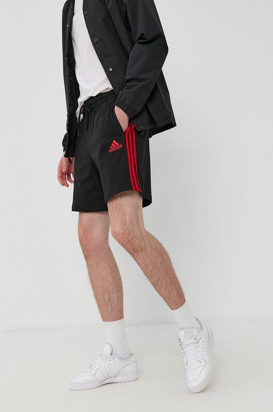 čierna adidas - Šortky Pánsky