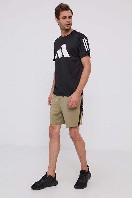 oliwkowy Adidas - Szorty Męski